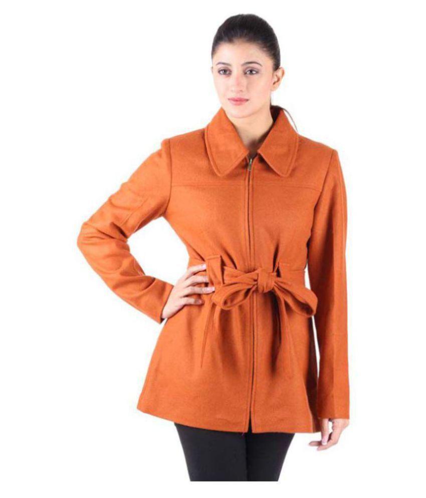 Owncraft Woollen Orange Over coats