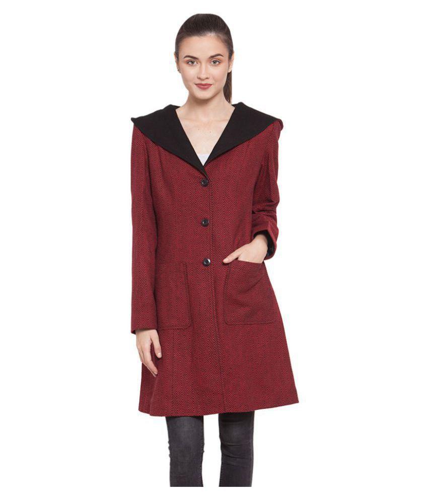 Owncraft Woollen Red Over coats