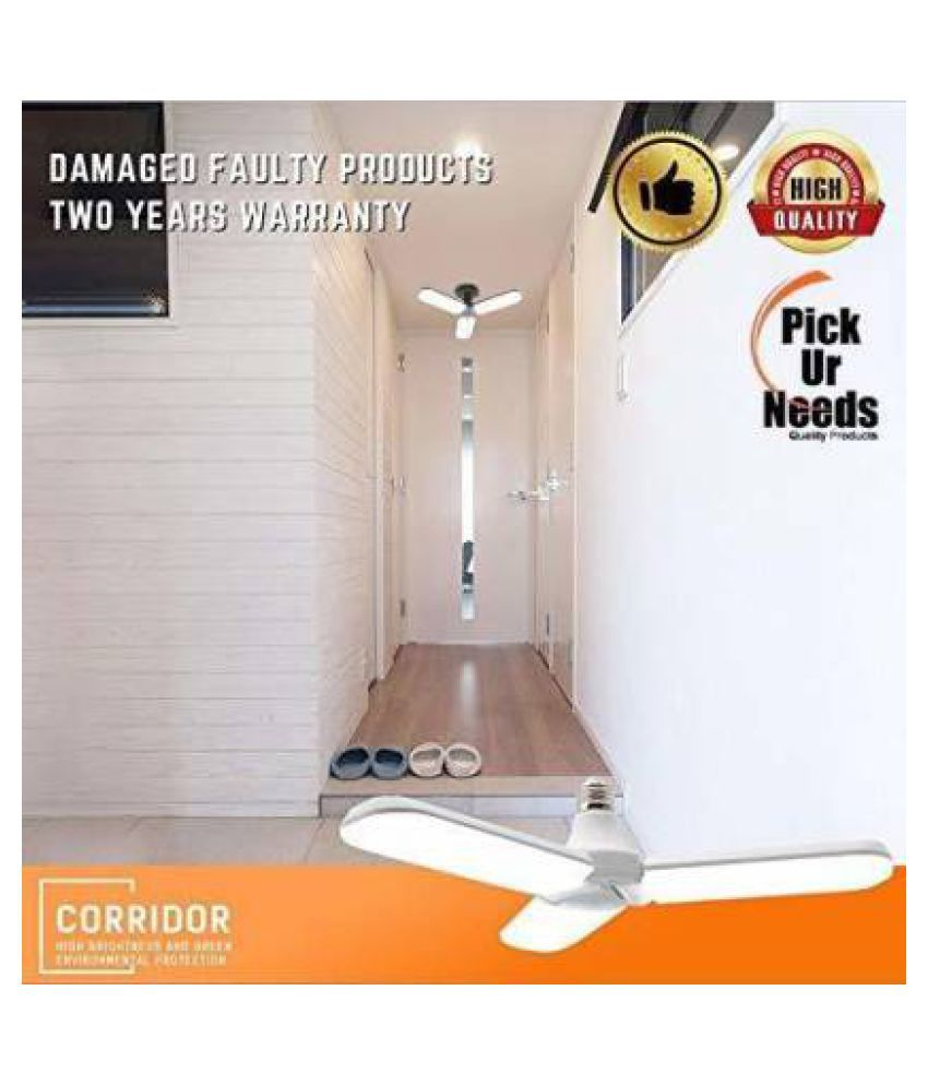 LUXURIANT CHOICE WITH DEVICE OF LC 40W LED Bulbs Cool Day Light - Pack of 1