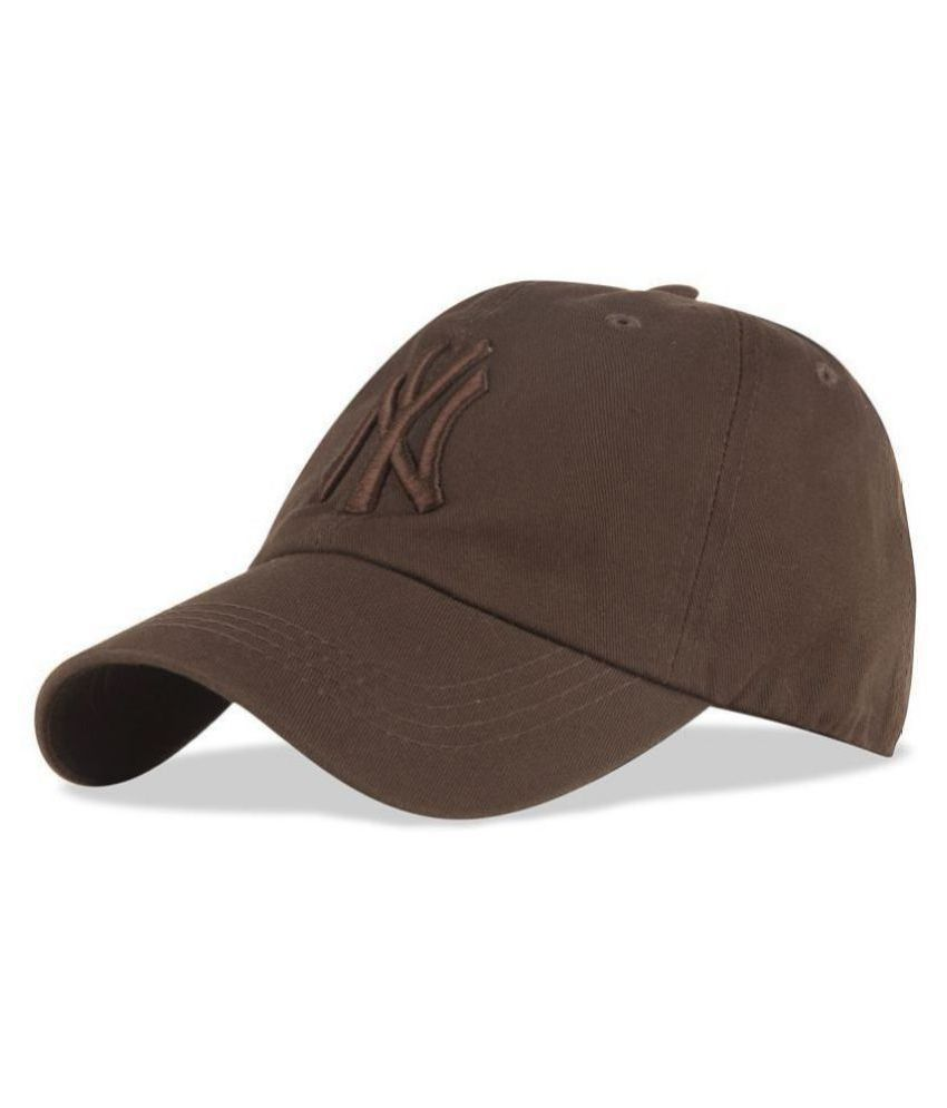 Drunken Brown Embroidered Cap for boys and cap for girls