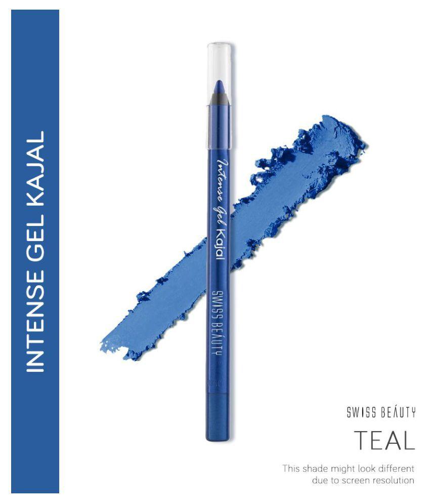 Swiss Beatuy Intense Gel Kajal (Electric Blue), 1.2gm each