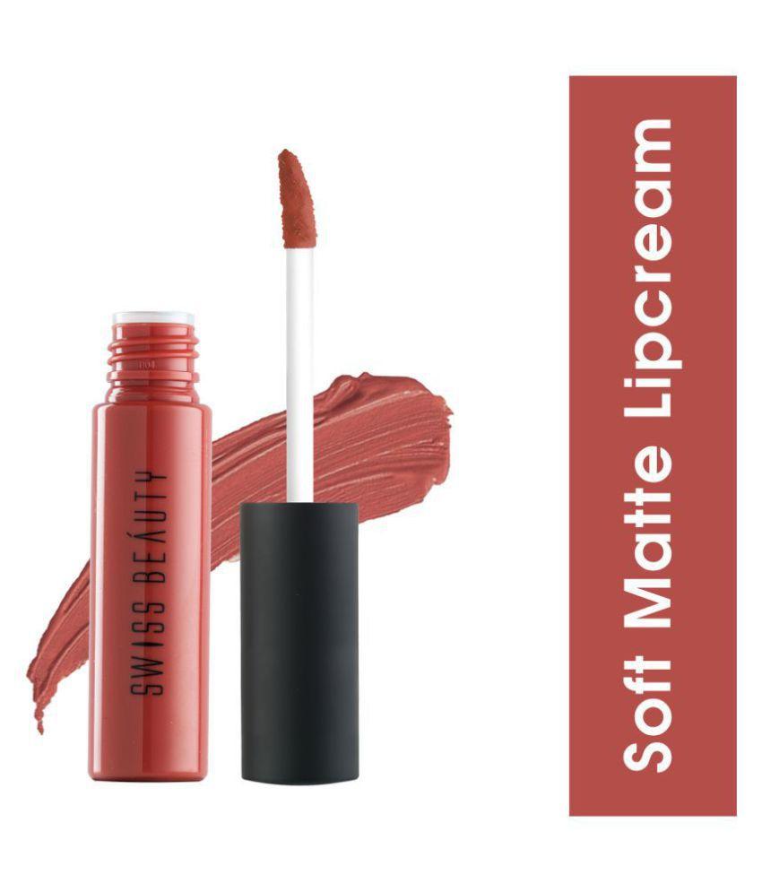 Swiss Beauty soft Matte Lipstick (Paris Fashion), 6ml