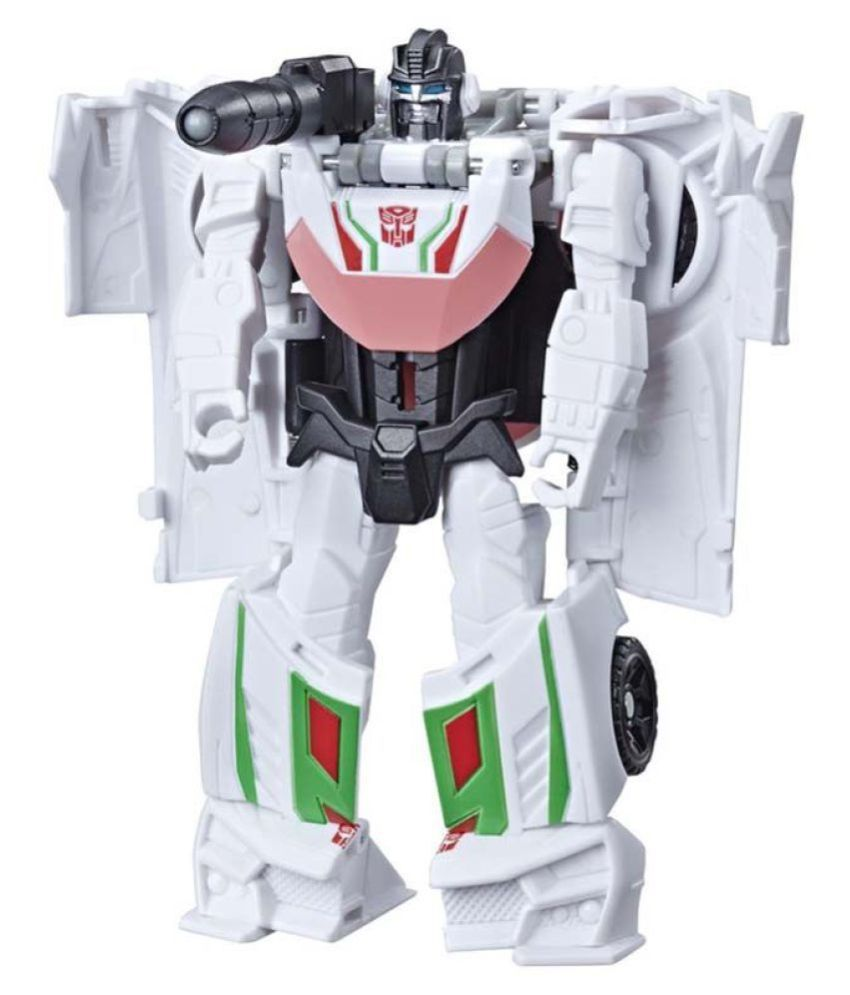 Transformers Toys Cyberverse Action Attackers 1 Step Changer Wheeljack Action Figure   Repeatable Gravity Cannon Action Attack