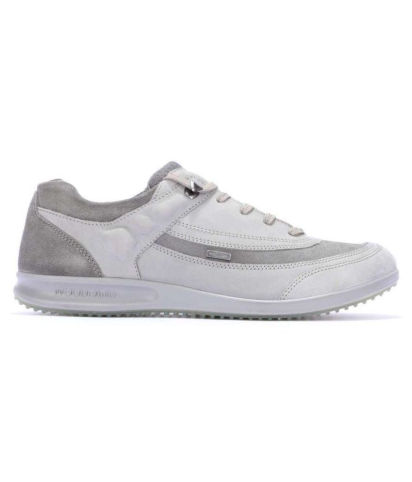 Woodland Gray Casual Shoes - Buy