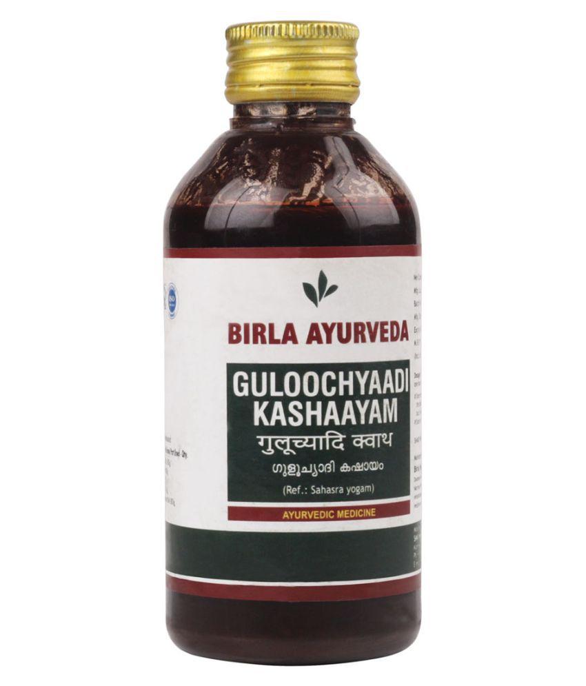 Birla Ayurveda Guloochyaadi Kashaayam Liquid 200 ml Pack Of 1
