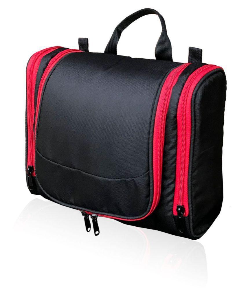 Foonty Black Toiletry Bag/Travel Kit