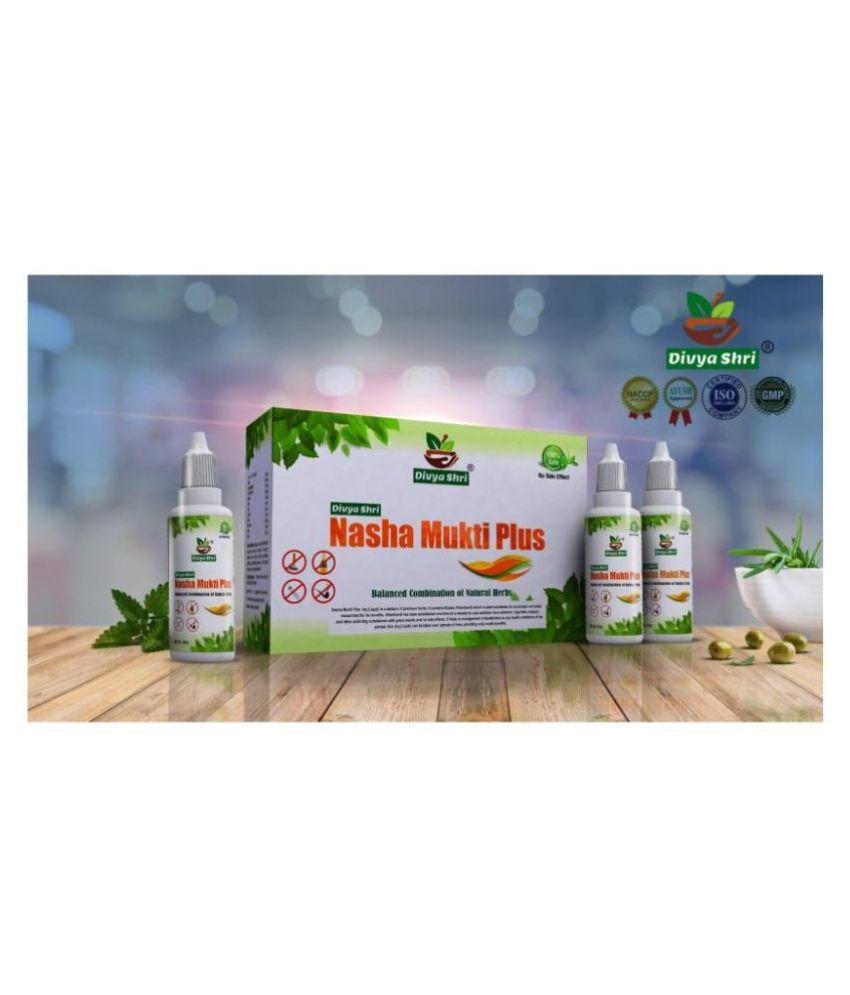 Divya Shri Nasha Mukti Plus Liquid 90 ml