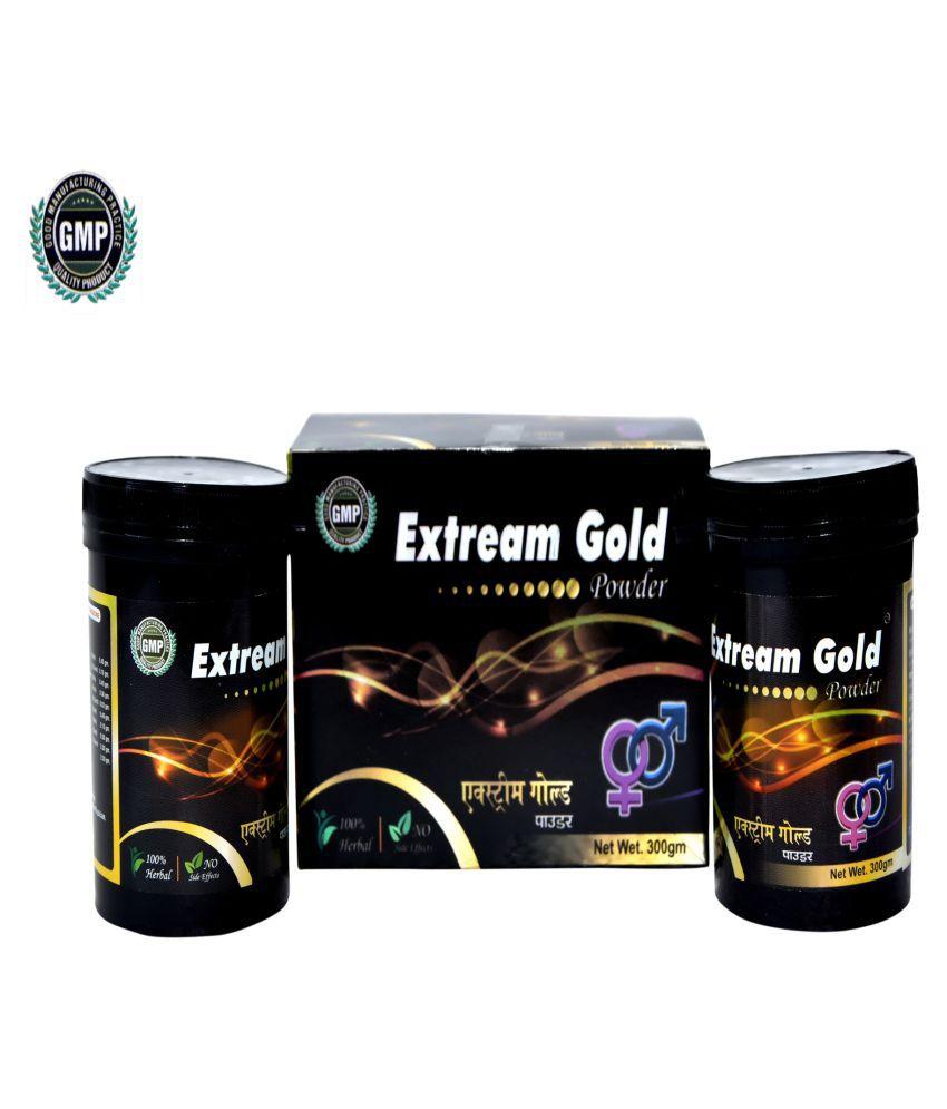 UNIQUE PHARMA EXTREAM GOLD AYURVEDIC Powder 300 gm Pack Of 1