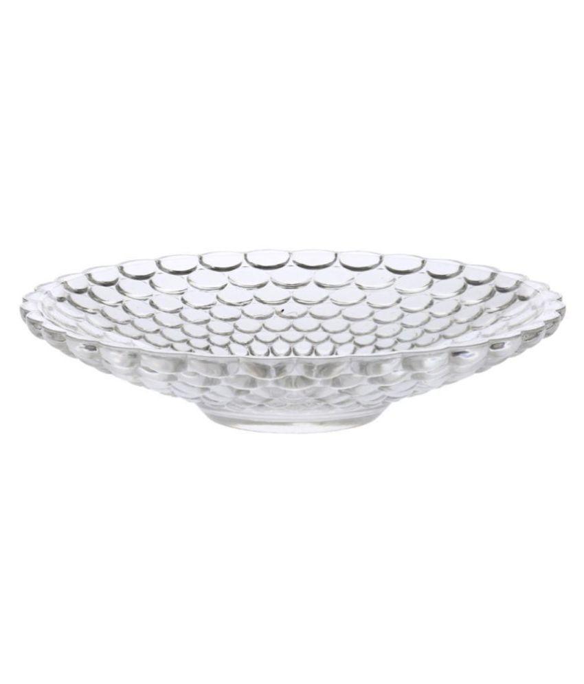 Somil 1 Pcs Glass Full Plate