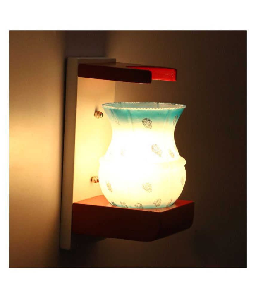 Somil Decorative Lamp Glass Wall Light Multi - Pack Of 1