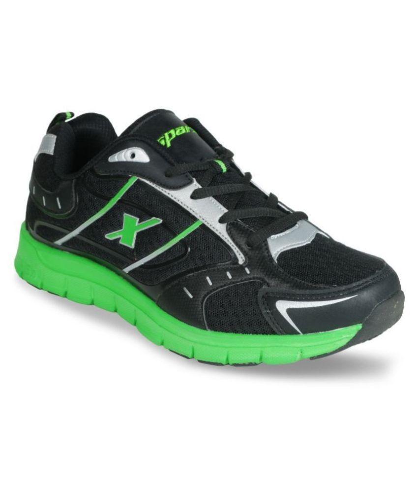 Sparx SM-219 Black Running Shoes - Buy