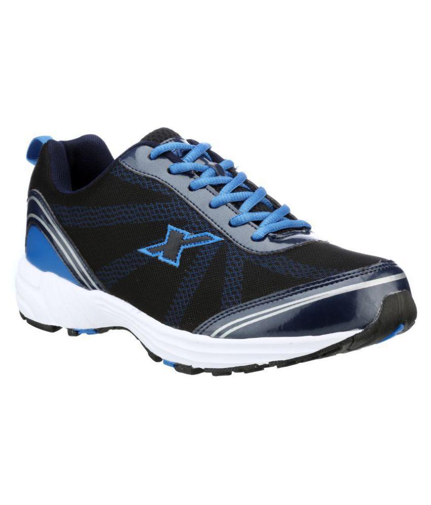 Sparx SM-260 Black Running Shoes - Buy