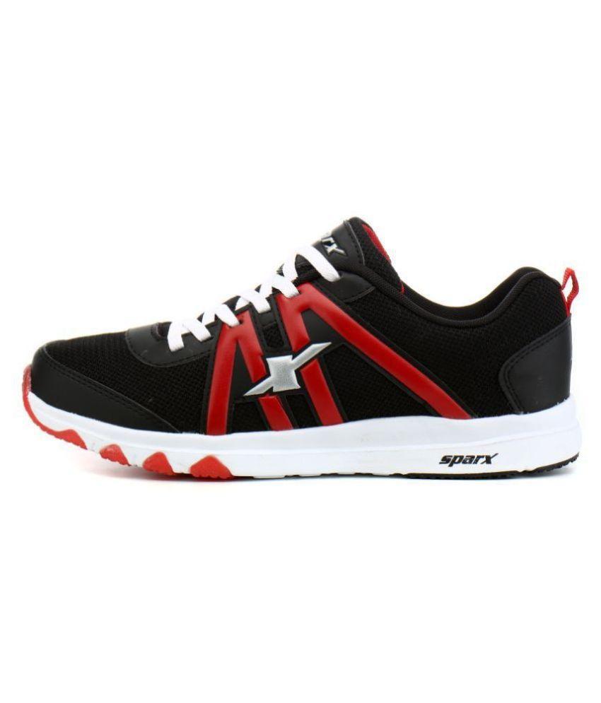 Sparx SM-343 Black Running Shoes - Buy