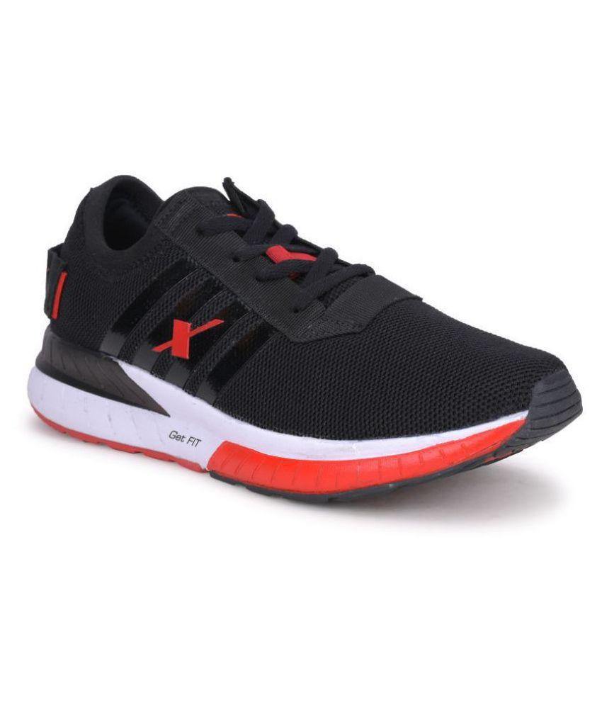 Sparx SM-441 Black Running Shoes - Buy