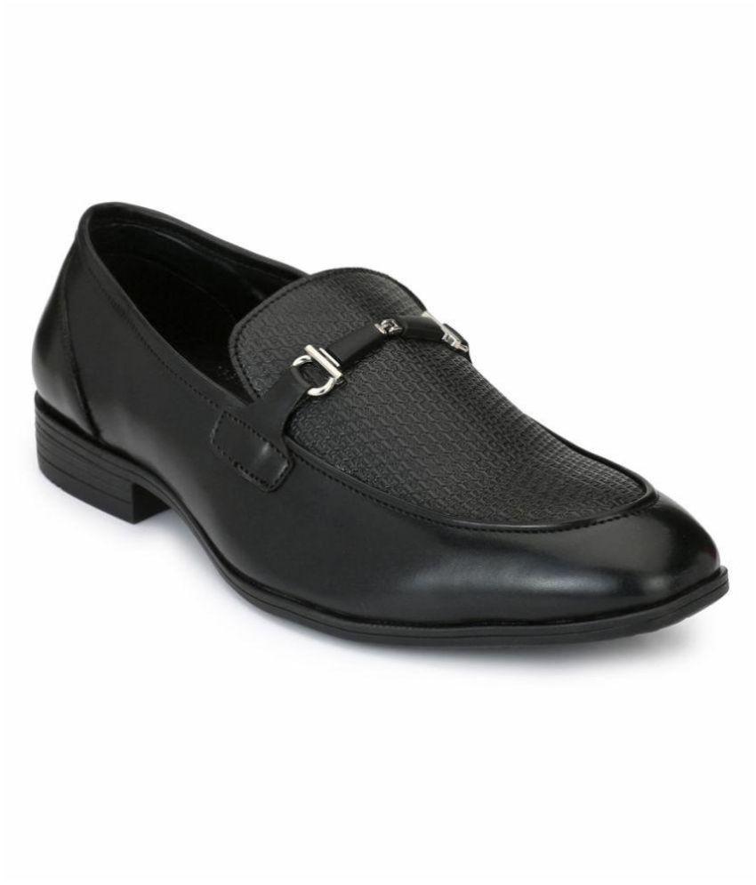 Alberto Torresi Office Black Formal Shoes