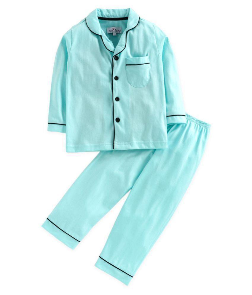 Nite Flite Boys' Classic Cotton Pyjama Set