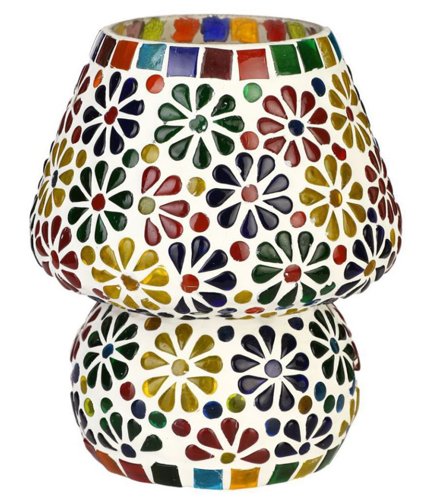 Somil Decorative Glass Table Lamp - Pack of 1