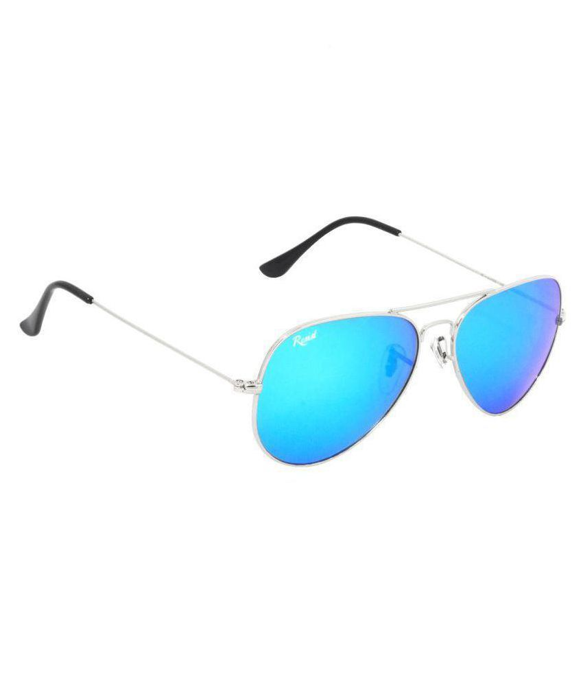 RESIST - Ocean Blue Aviator Sunglasses ( RE-AV-SF-R02 )