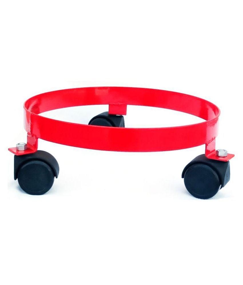 DecorNation Metal Cylinder Trolley