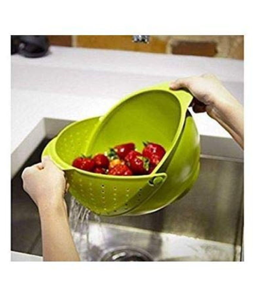 Stop And Shop Plastic Fruit & Vegetable Trolley