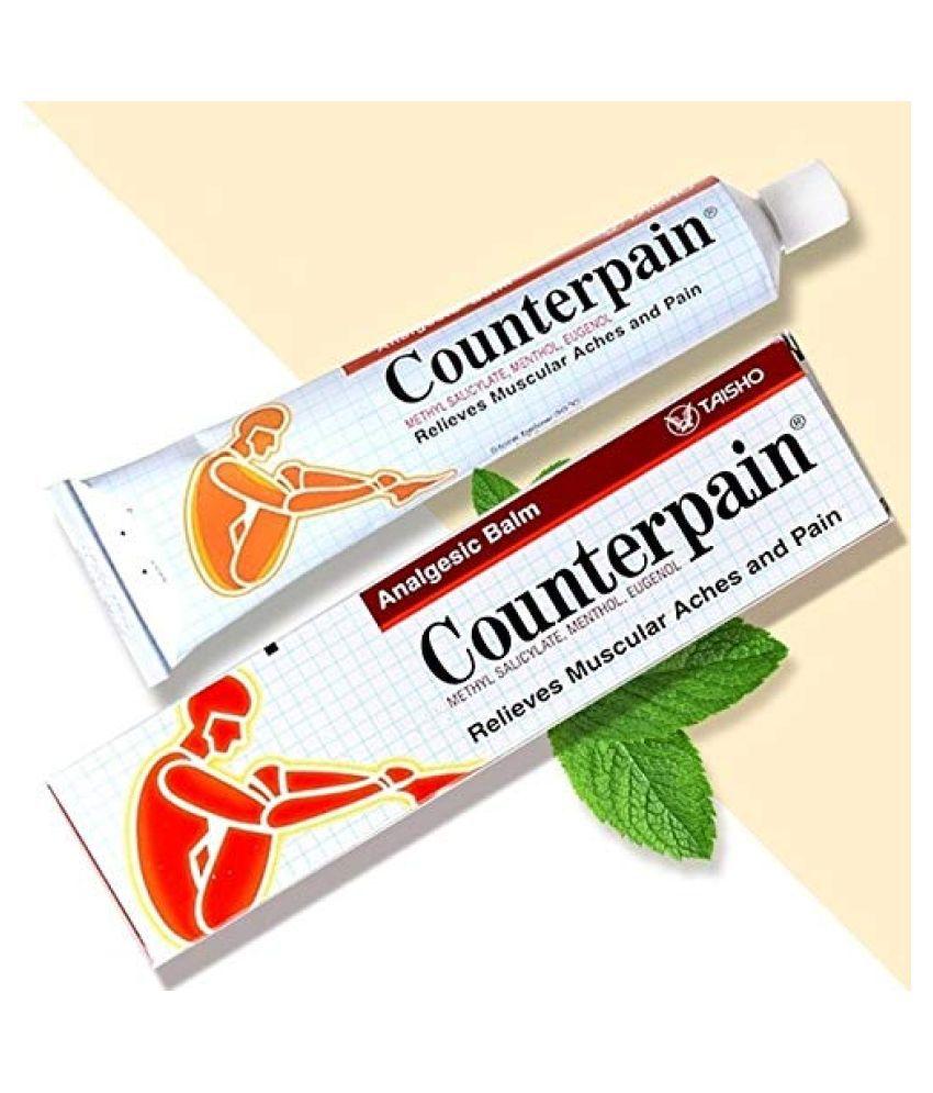 counterpain Muscular Pain Balm Relieve Muscular Aches/Fatigue Sports Sprain Massage Cream Warm Pain Pack Of 1