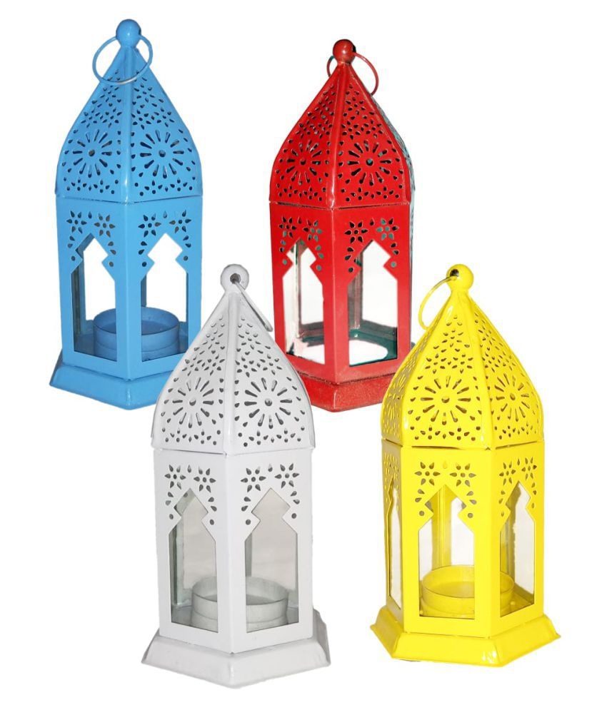 designer international Moksha Hanging Lantern Hanging Lanterns 17 - Pack of 4