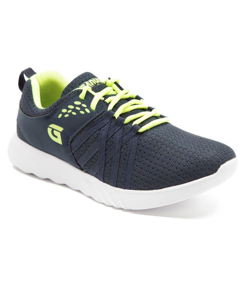 Ganuchi Blue Running Shoes