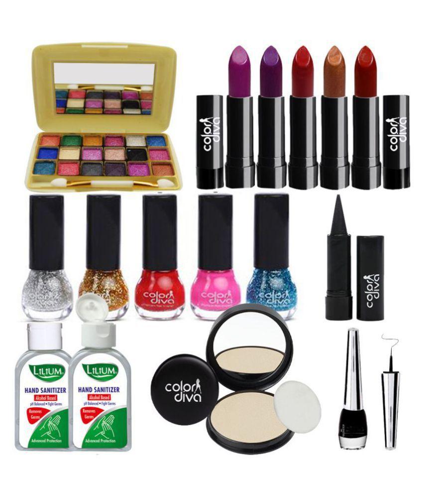 Adbeni Combo Pack Of 16 Makeup Set   C90A