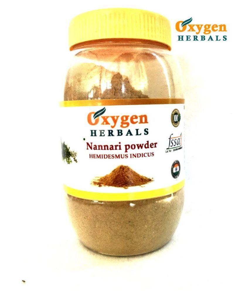oxygen herbals Nannari Root  (Hemidesmus Indicus) Powder 250 gm