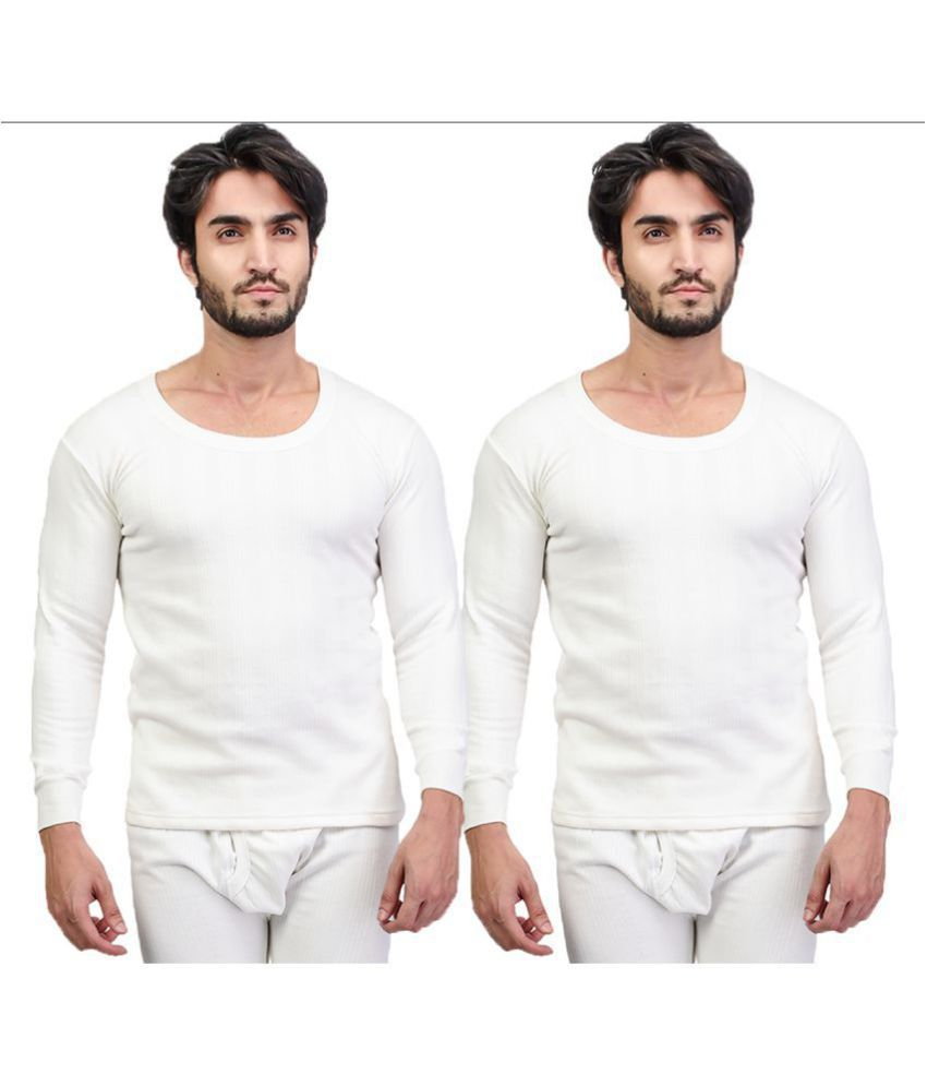 Zimfit White Thermal Upper Pack of 2