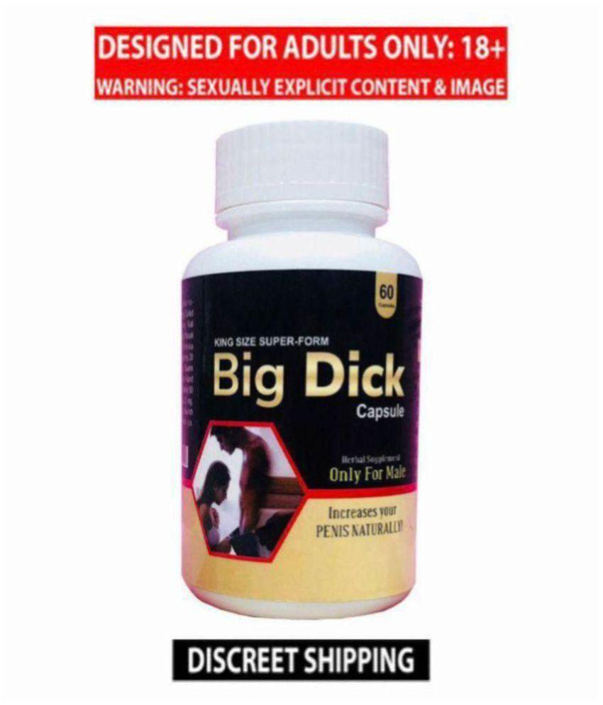 Dr Chopra's Big Dick Enlargement Capsule, Pack of 60 Capsules Kamveda