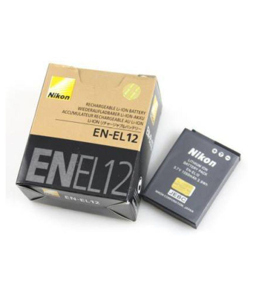 Nikon NIKON EN EL 12 1020mAh Rechargeable Battery 1