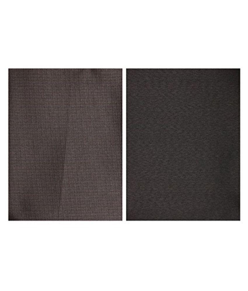 Dearman Gwalior Suitings Multi Cotton Blend Unstitched Pant Pc combo of 2