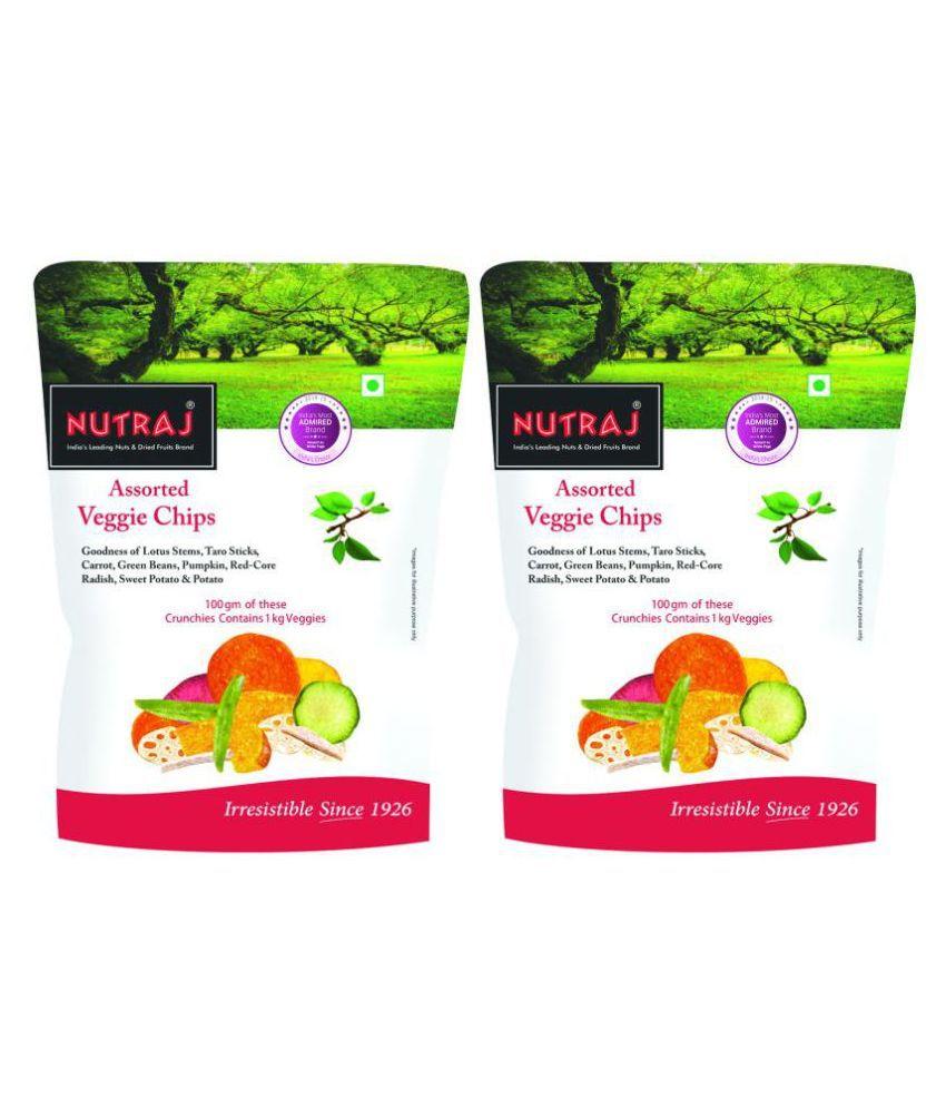 Nutraj Assorted Veggie Chips 100g (2 X 50g)