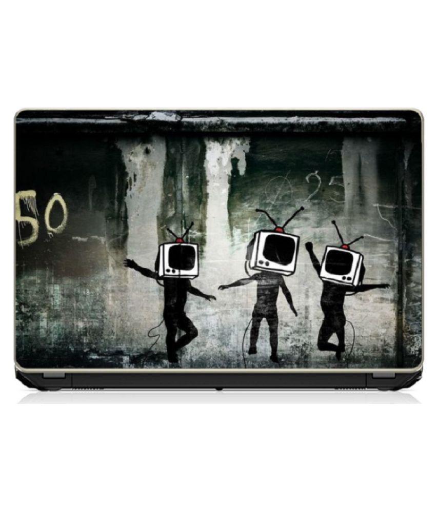 Kids Playing Laptop Skin 15.6 Vinyl Vinyl Laptop Decal 15.6