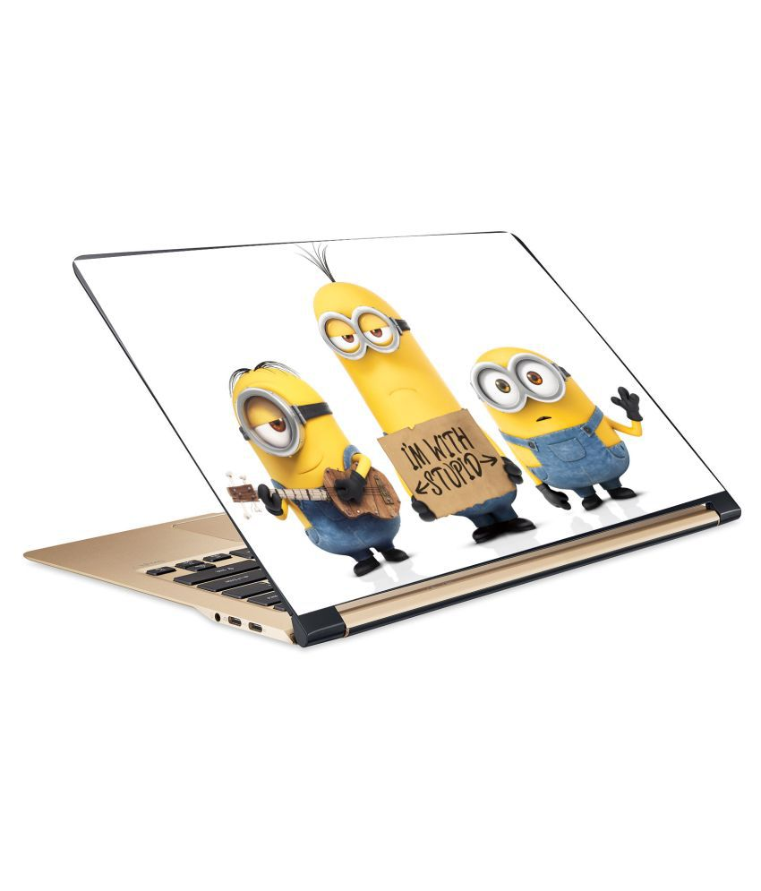 Minions7 Laptop Skin 15.6 Vinyl Vinyl Laptop Decal 15.6