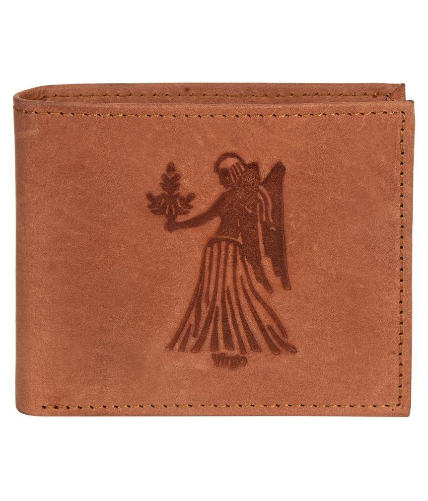 Hawai Leather Tan Casual Regular Wallet