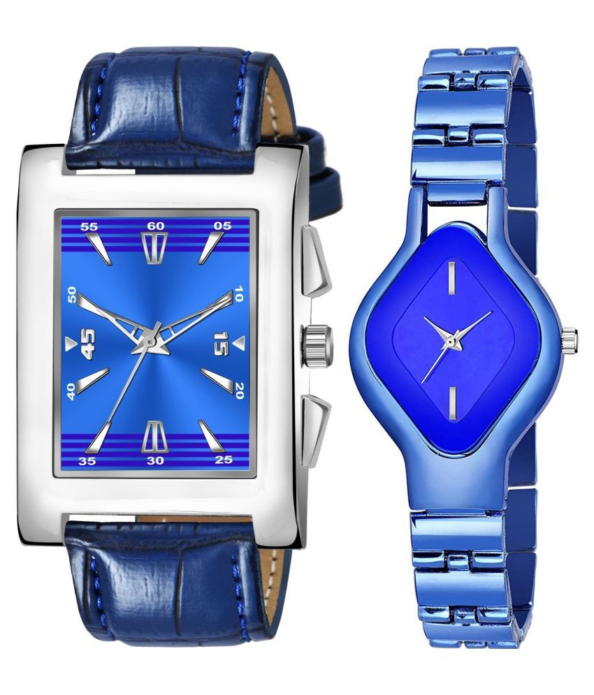 K_8125_L_715 EXCLUSIVE LEATHER STRAP ANALOG QUARTZ WATCH FOR MEN AND WOMEN