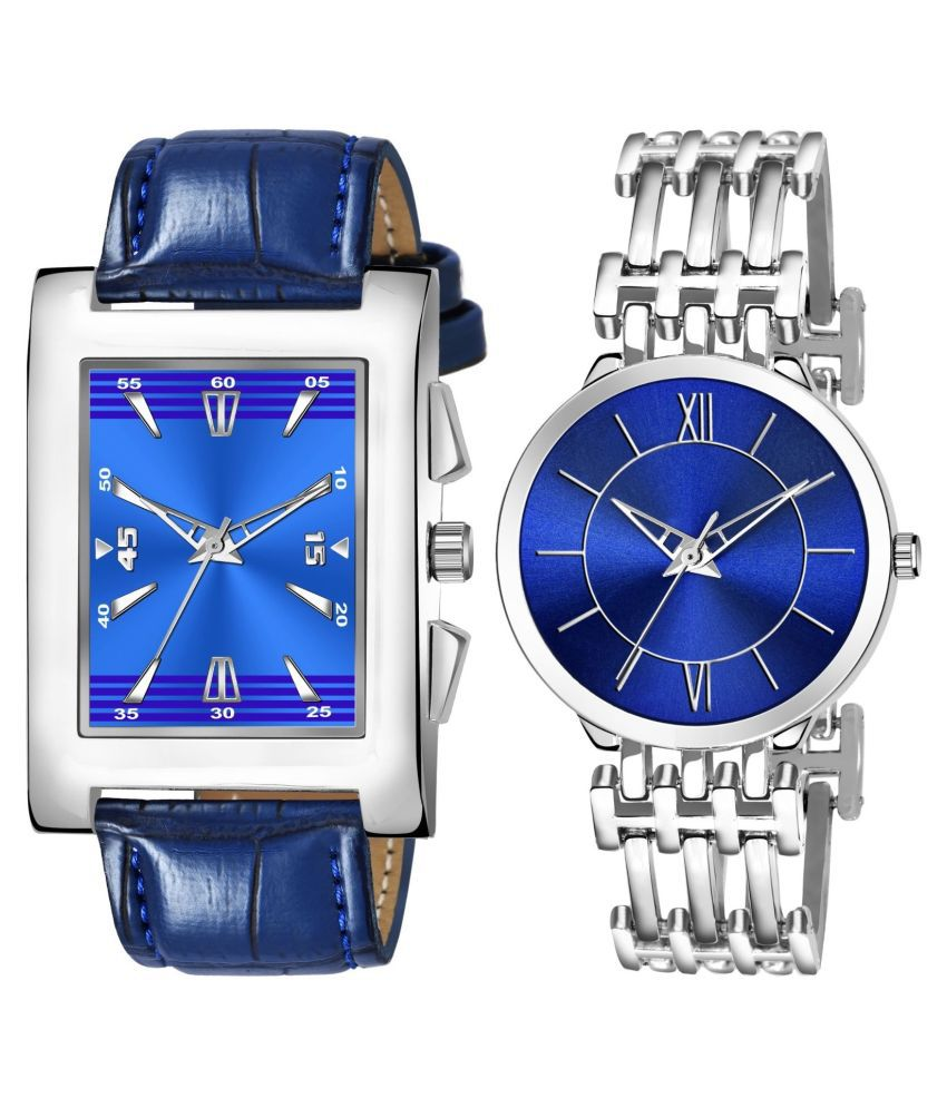 NEWK_8125_L_854 EXCLUSIVE LEATHER STRAP ANALOG QUARTZ WATCH FOR MEN AND WOMEN