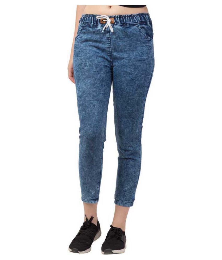 Rafflesia Tolpis Denim Jeans - Blue