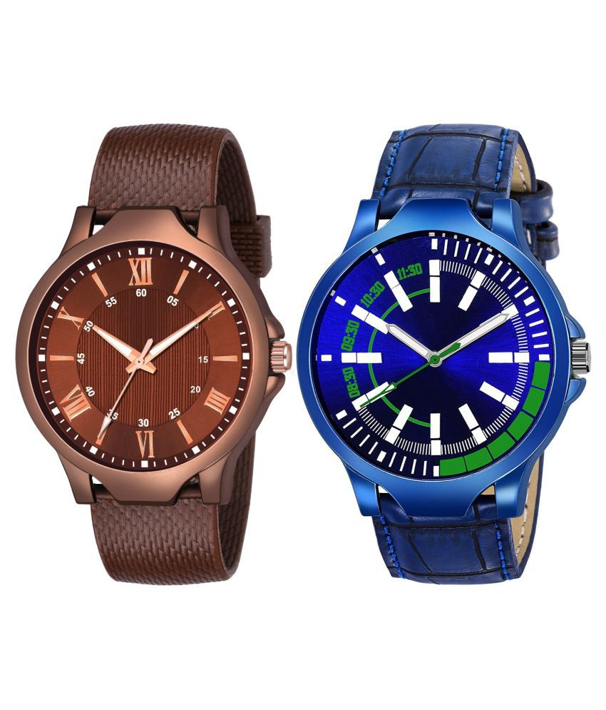 K_512_450 ANALOG QUARTZ PACK OF 2 WATCH FOR MEN AND BOYS