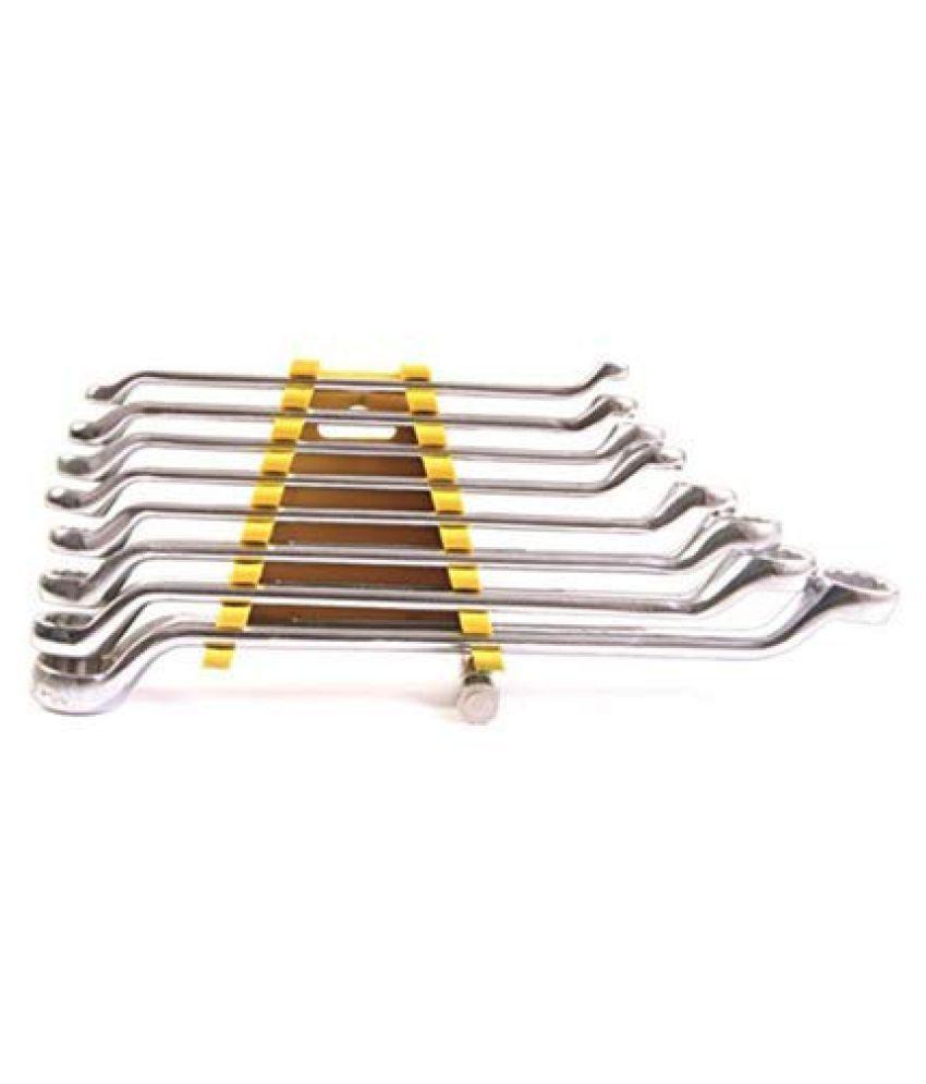 Tools & Hardware Ring Spanner Set of 8 Pc