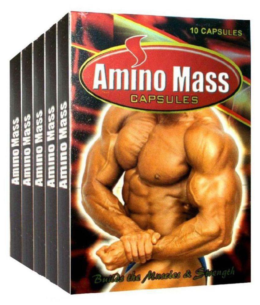 Ayurvedic Amino Mass Capsule 10 no.s Pack Of 10