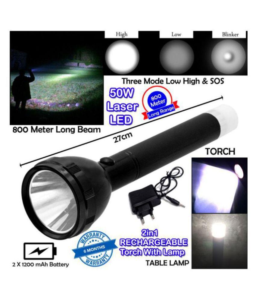 KRISHNA ENTERPRISE 2W Flashlight Torch 9050 - Pack of 1