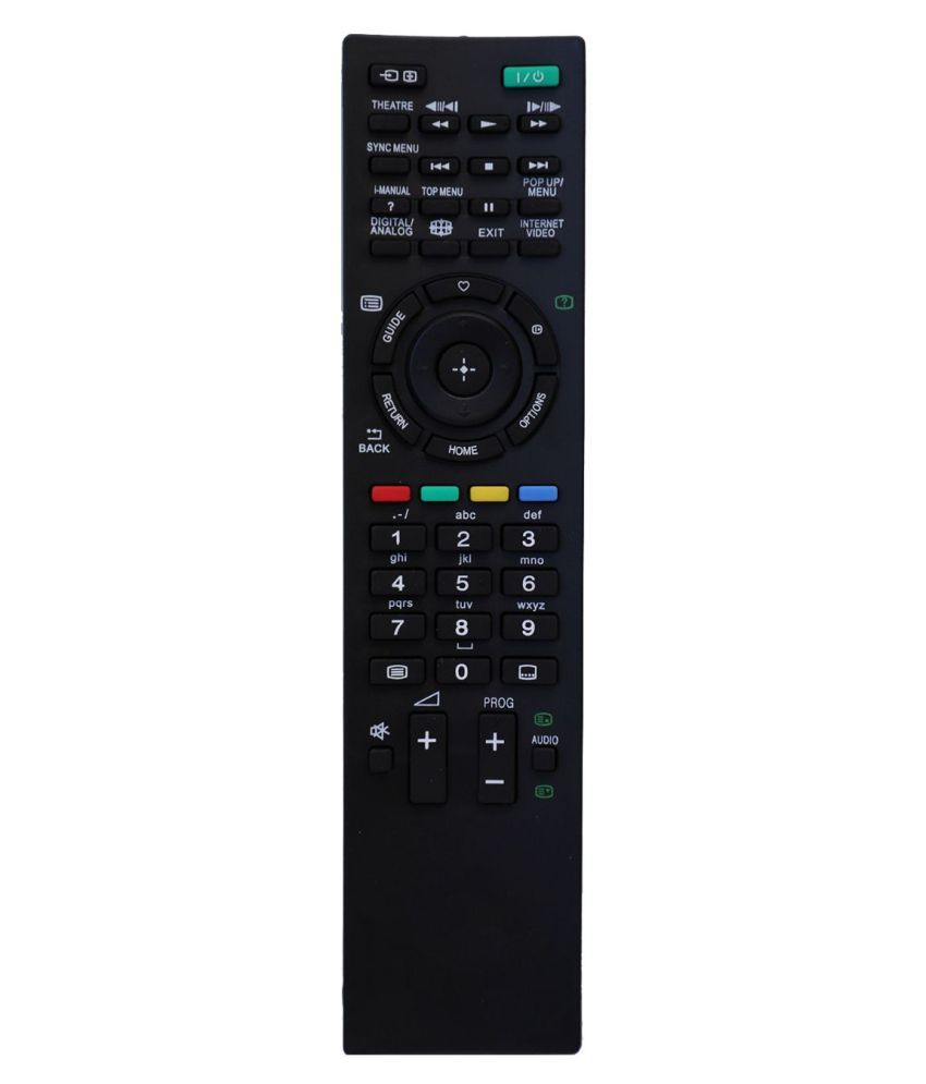 Upix URC67 LCD/LED TV Remote Compatible with Sony LCD/LED TV