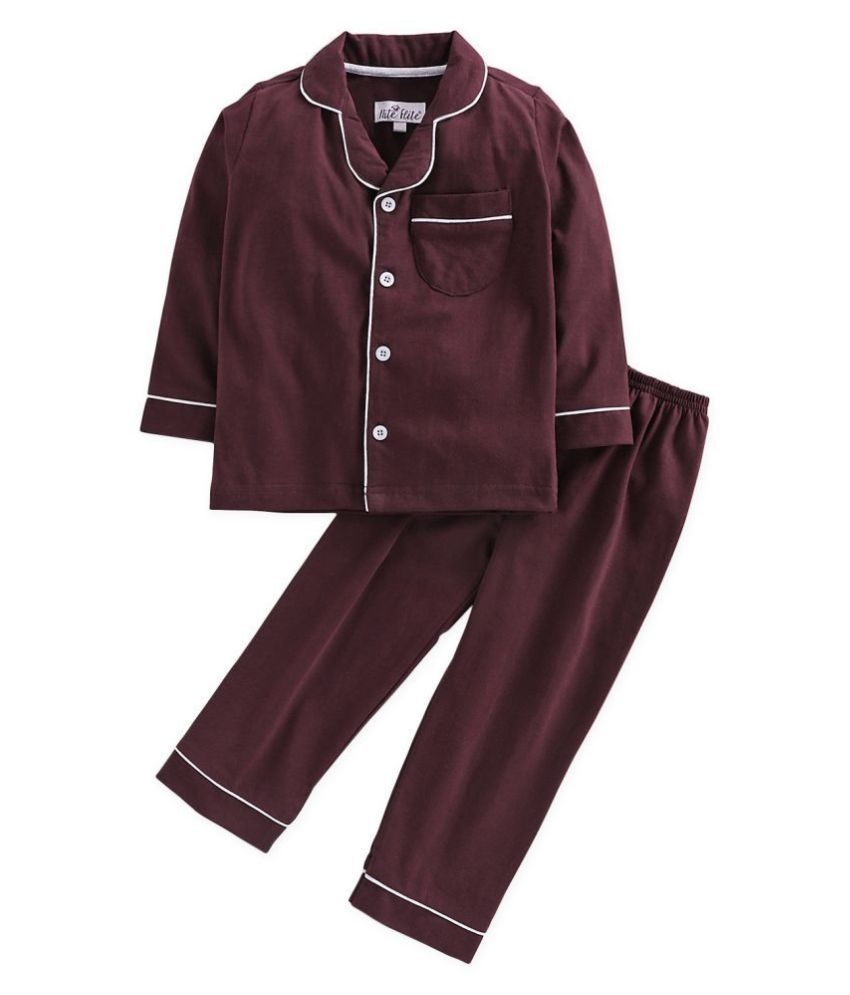 Nite Flite Girls' Classic Cotton Pyjama Set