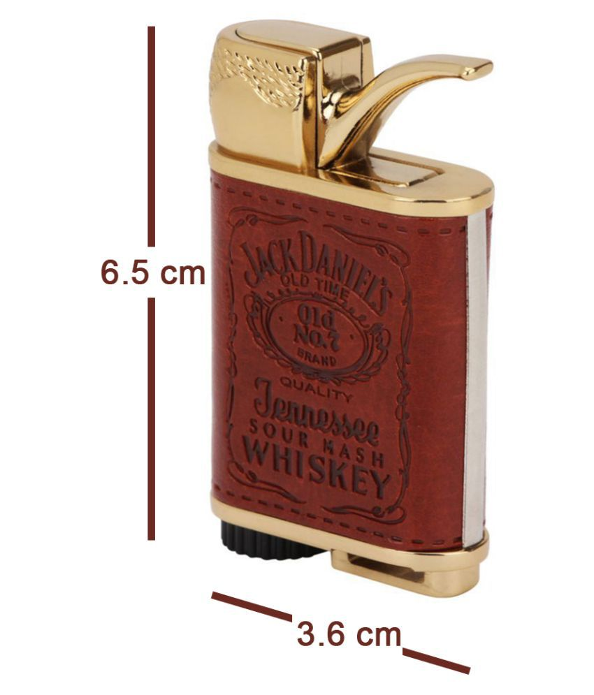 Play Run Leather Coated Jack Daniel USB Light Multicolour Pack of Pack of 1