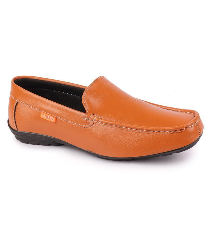 Fausto Tan Loafers