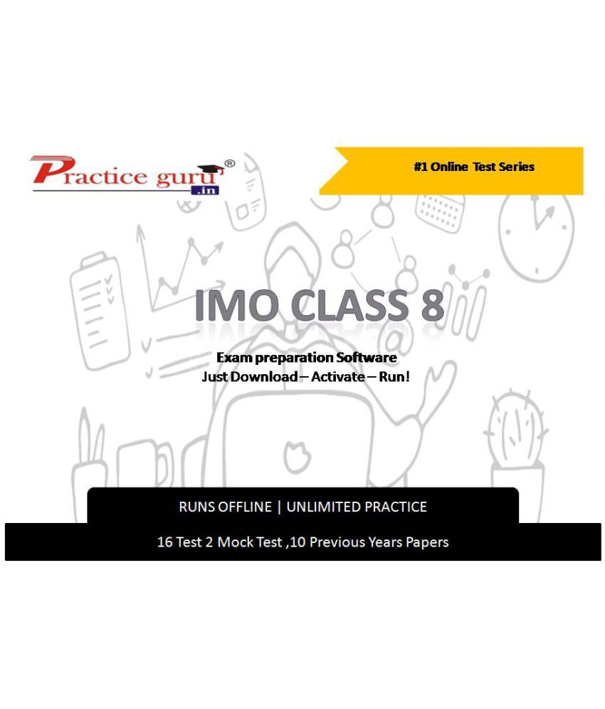 Practice Guru  16 Test 2 Mock Test,10 Previous Years Papers  for 8 Class IMO Exam  Online Tests