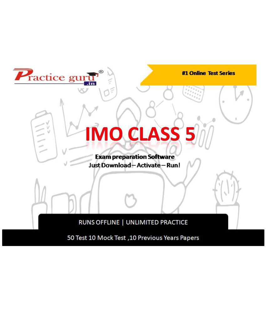 Practice Guru  50 Test 10 Mock Test,10 Previous Years Papers  for 5 Class IMO Exam  Online Tests